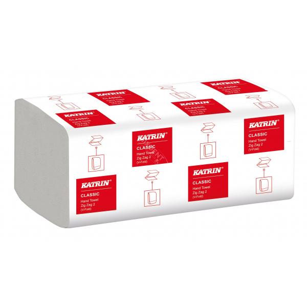Ręczniki papierowe Katrin Classic składane ZZ 2 (Zig Zag 2) 200szt