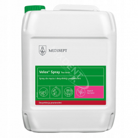 Medisept Velox Spray Teatonic 5L do dezynfekcji powierzchni