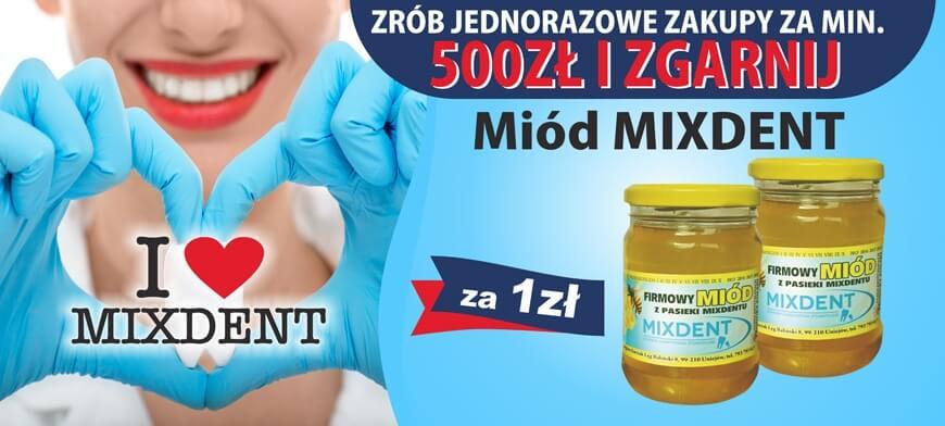 Promocja I LOVE MIXDENT MIXDENT 500PLN