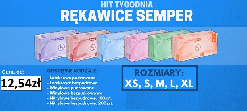 Hit Tygodnia rękawice Semper